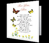 Wonderful Daughter Valentine's Day Printable Cards