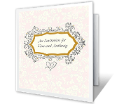Personal Invitation Wedding Printable Cards