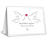With Love and a Prayer Wedding Printable Cards