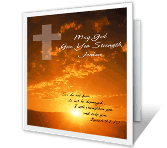 Remember God's in Charge greeting card