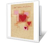 Smiles, Prayers, and Blessings to You greeting card