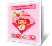 Someone Berry Special greeting card
