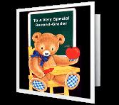 Special Second-Grader greeting card