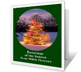 Special Time of Year greeting card