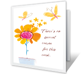Special You! greeting card