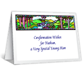 Special Young Man greeting card