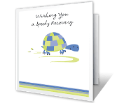 Speedy Recovery greeting card