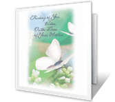 Sympathy for Mother's Loss greeting card