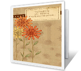 Thanksgiving Wishes greeting card