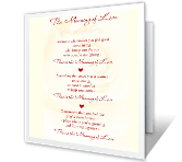 The Meaning of Love greeting card