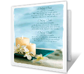 The Miracle of Love greeting card