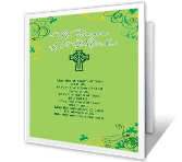 The Prayer of St. Patrick greeting card