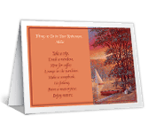 Things to Do greeting card