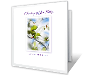 Thinking of You at Easter greeting card