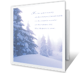 This Wondrous Season greeting card