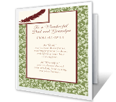 To a Wonderful Dad and Grandpa greeting card