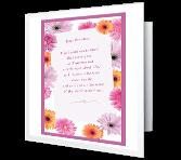 To My Wonderful Grandma greeting card