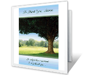 To Say Thank You greeting card