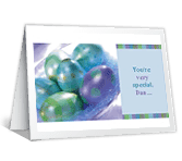 To Son, with Pride greeting card