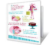 Top Five Reasons greeting card