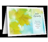 Treasured Memories greeting card