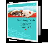 Twice as Beautiful greeting card