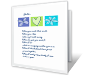 When I Love You greeting card