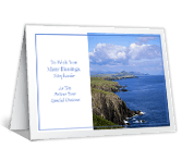 Wishing You Blessings greeting card