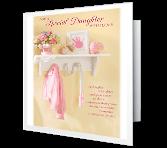 With Loving Pride, Daughter greeting card