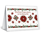 Wonderful Holiday Gift greeting card
