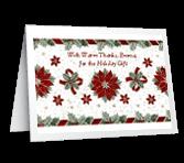 Wonderful Holiday Gift greeting card