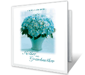 Wonderful Mother and Grandmother greeting card