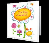 World's Nicest Grandma greeting card