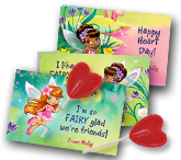 A Fairy Happy Valentine's Day greeting card