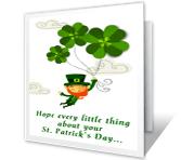 A Wee Wish greeting card