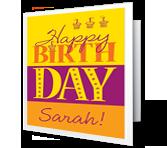 Birthday Fun greeting card