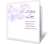 Blessings on Your Wedding greeting card