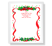 Christmas Tidings stationery