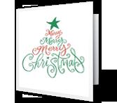 Christmas Wish greeting card