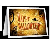 Halloween Hi greeting card
