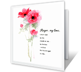 I Thank God for You greeting card