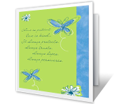 Love and Faith greeting card
