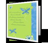 Love and Faith greeting card
