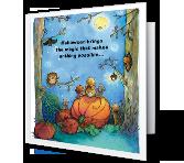 Moonlit Fun greeting card