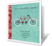 Wonderful Couple Anniversary Printable Cards
