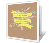 Your Anniversary Anniversary Printable Cards