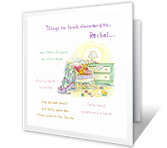 Things You Can Look Forward To Baby Printable Cards