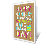 All-About-You Day Birthday Printable Cards