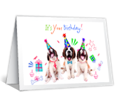 Doggone Birthday Birthday Printable Cards