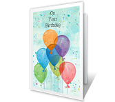 Enjoy Your Birthday Birthday Printable Cards